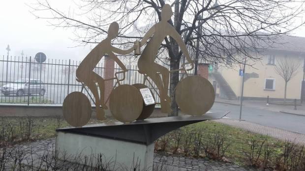 monumento Coppi Bartali Collegno