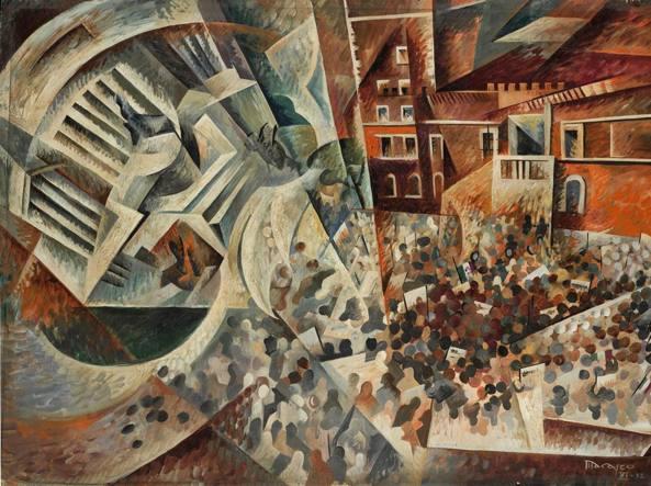 adunata in piazza Venezia - Antonio Marasco